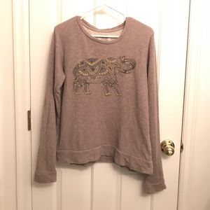 Lucky Brand Elephant pullover